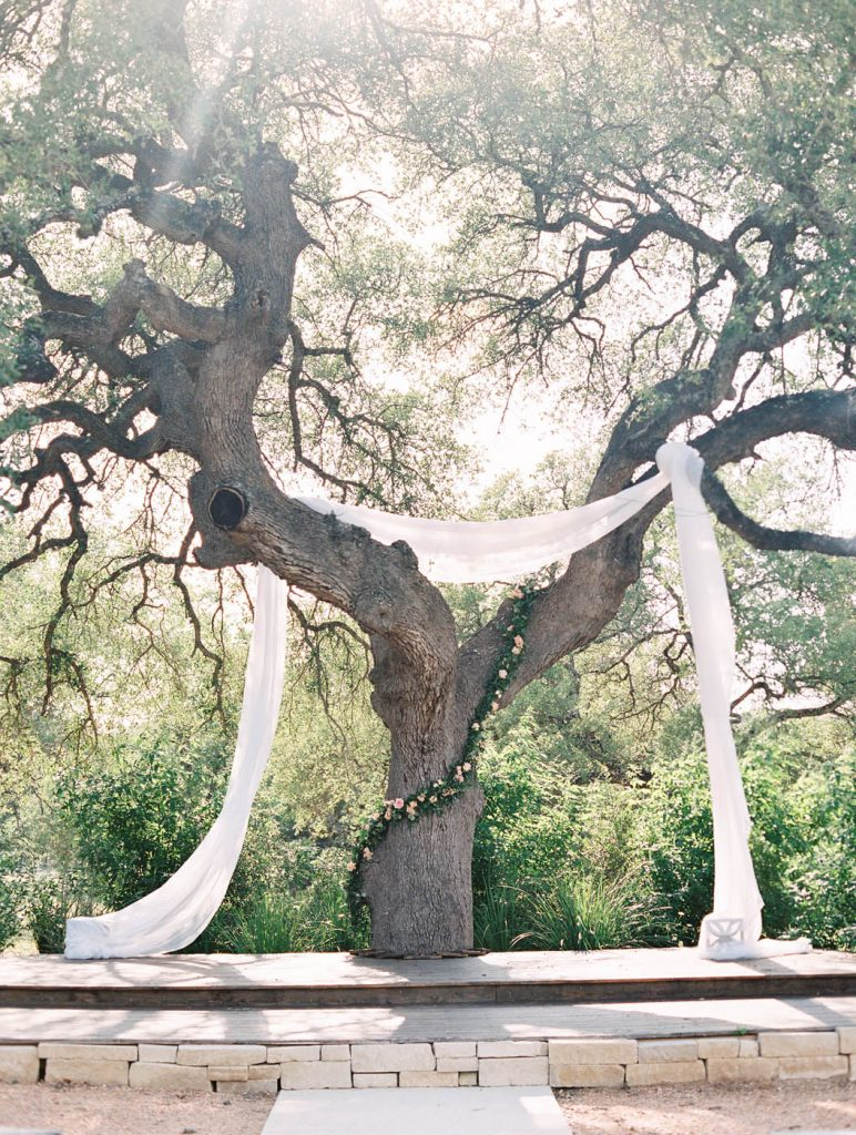 the oak ceremony location at Park 31