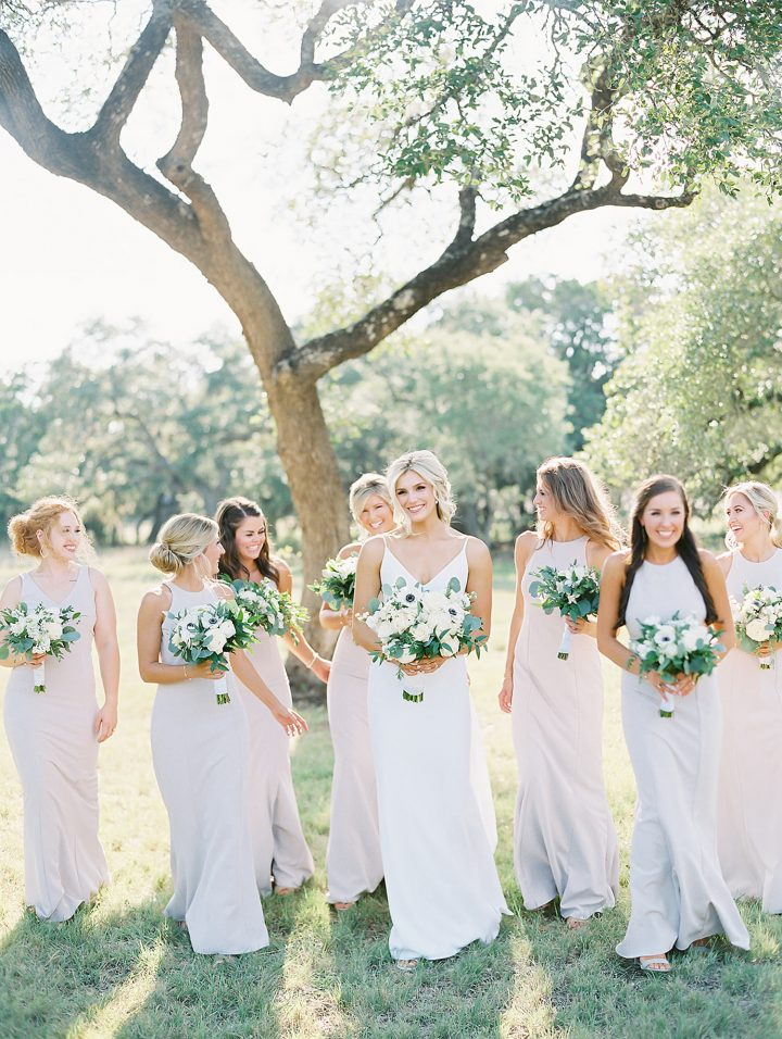 bridal party from top Austin wedding photographer Lucy Struve